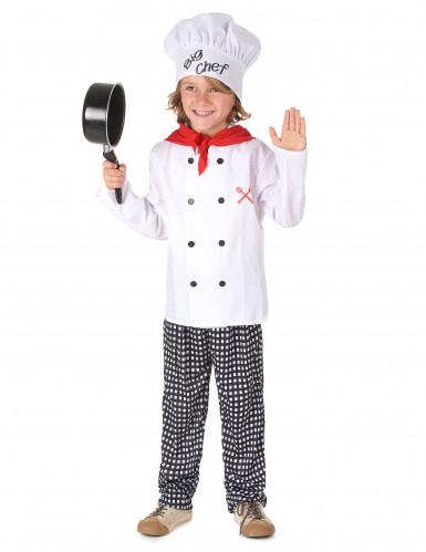 Costume da capo cuoco per bambino-1
