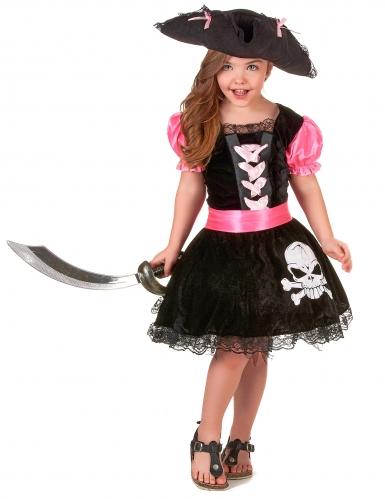 Costume da principessa pirata per bambina