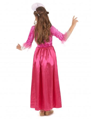 Costume da principessa di corte per bambina-2