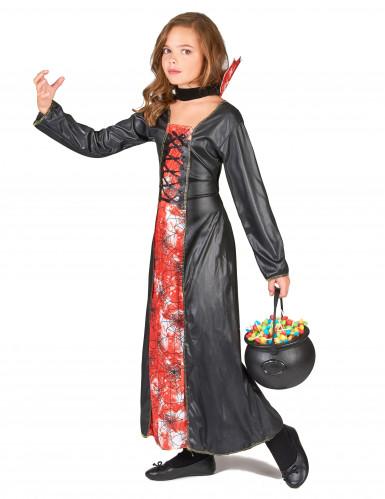 Costume regina ragno bambina-1