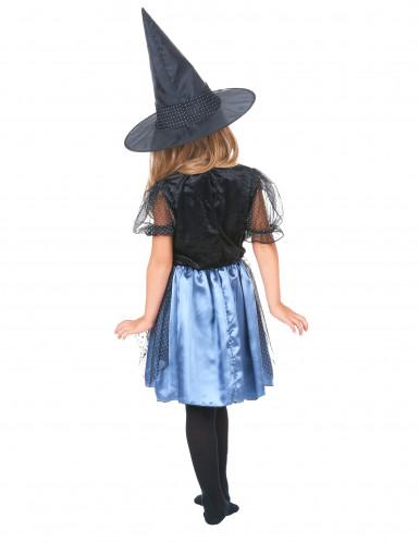 Costume da strega ragno con brillantini bambina-2