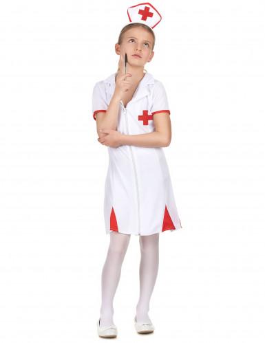 Costume infermiera della croce rossa bambina