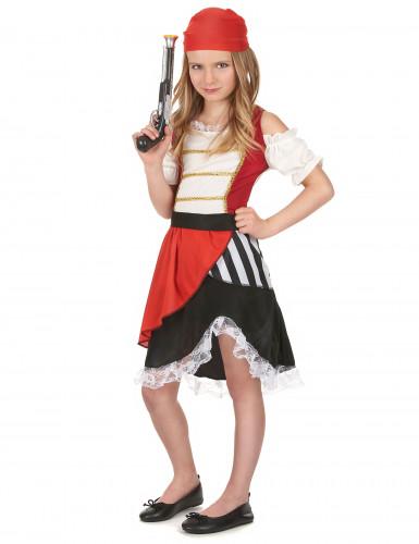 Costume pirata gonna asimmetrica bambina-1