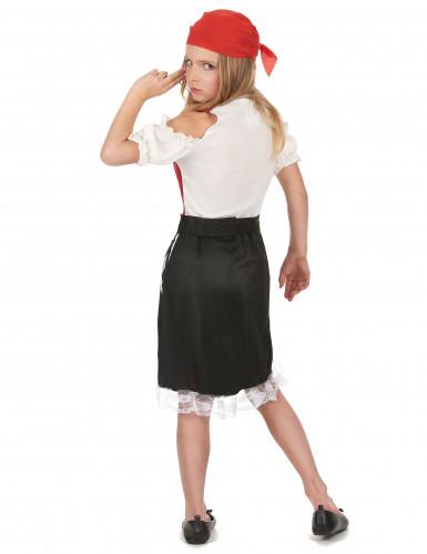 Costume pirata gonna asimmetrica bambina-2