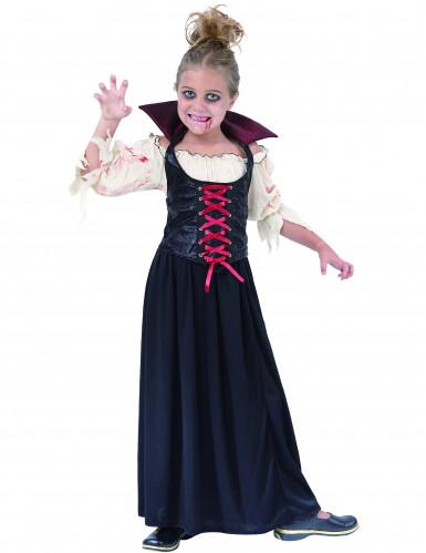 Costume da Contessa vampiro bambina
