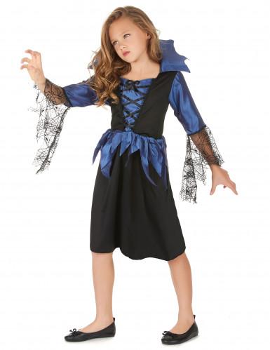 Costume principessa dei ragni bambina Halloween-1