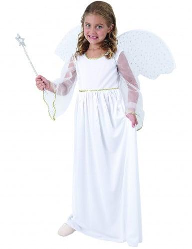 Costume angelo bianco bambina