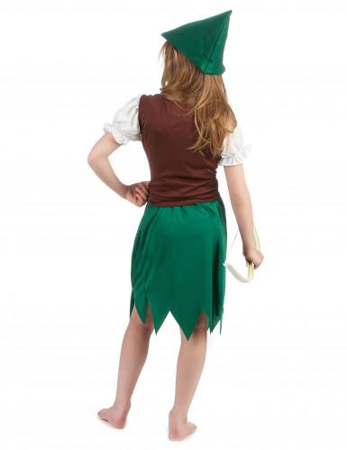 Costume da bambina della foresta-2