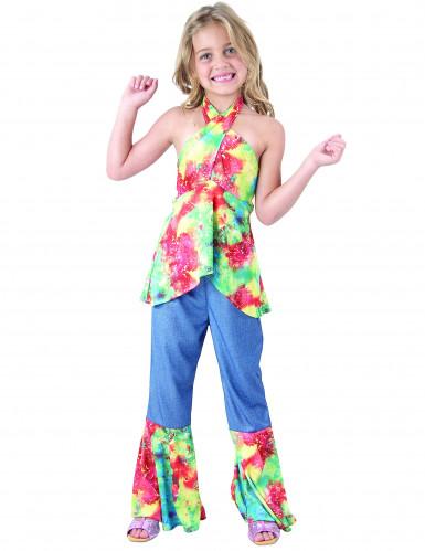 Costume hippie bambina