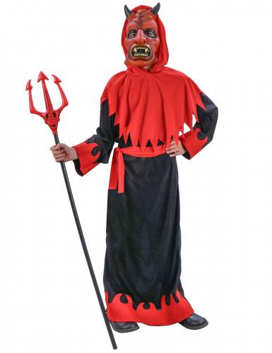 Costume diavolo con maschera bambino