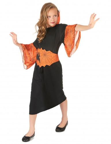 Costume regina dei ragni bambina Halloween-1