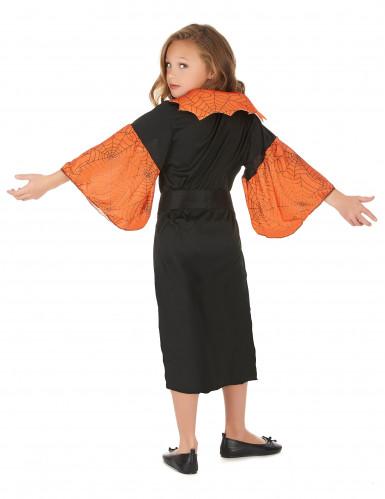 Costume regina dei ragni bambina Halloween-2