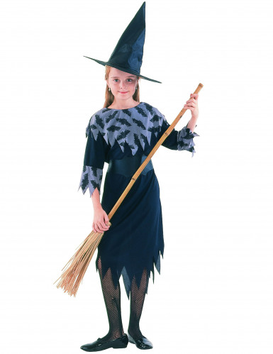 Costume da strega pipistrello bambina