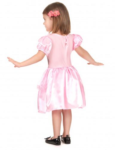 Costume principessa rosa bambina-2