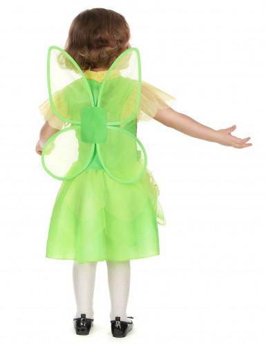 Costume fatina verde bambina-2