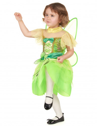 Costume fatina verde bambina-1