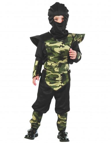 Costume mimetico ninja bambino