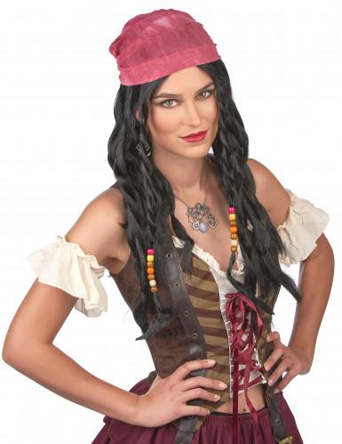 Parrucca pirata uomo-1