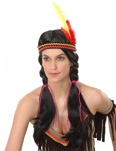 Parrucca indiana donna