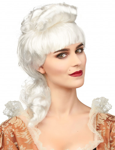 Parrucca nobile bianca donna