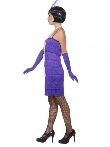 Costume anni 20 charleston viola Donna-1