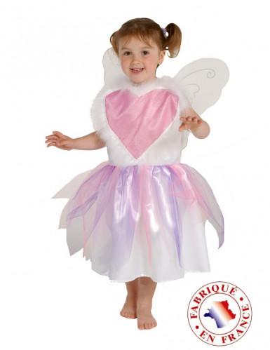 Costume fatina cuore bambina