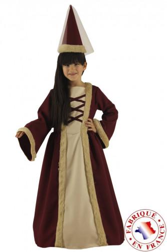 Costume signorina medievale bambina