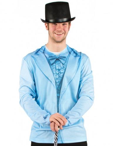 T-shirt vestito blu adulto