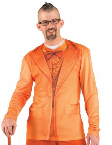 T-shirt vestito arancione adulto