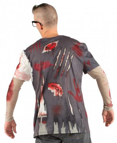 T-shirt zombie adulto-1