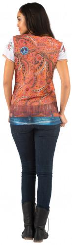 T-shirt hippie donna-1