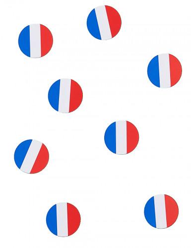 150 coriandoli da tavola bandiera Francia