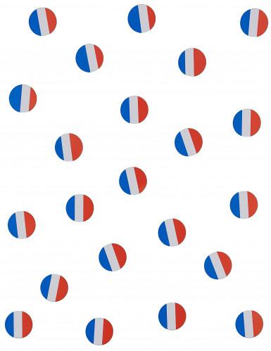 150 coriandoli da tavola bandiera Francia-1