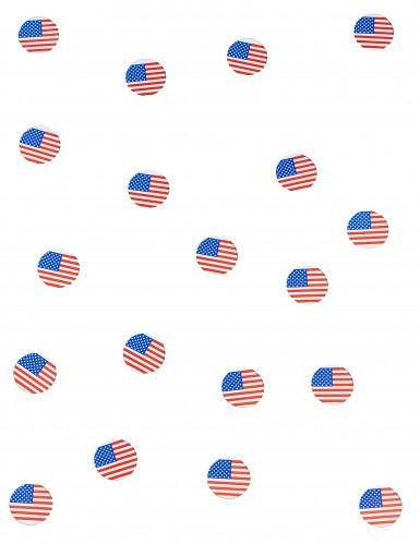 150 coriandoli da tavola bandiera USA-1