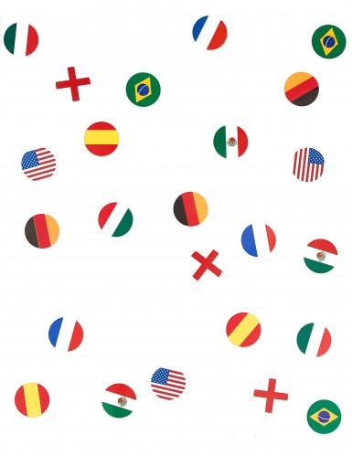 150 coriandoli da tavola bandiere Nazionali-1