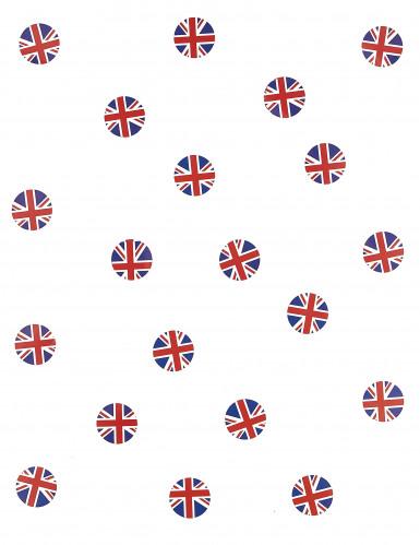 150 coriandoli da tavola bandiera Gran Bretagna-1