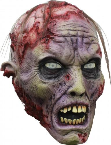 Maschera integrale con cervello scoperto Halloween
