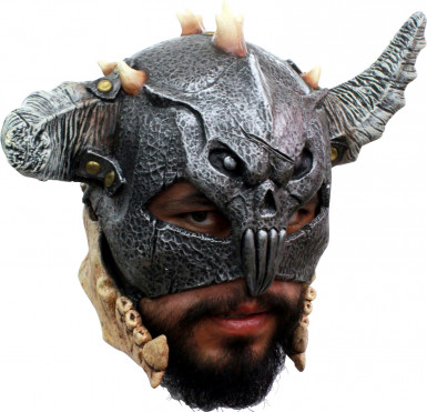 Maschera 3/4 guerriero adulto