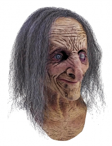 Maschera integrale vecchia strega