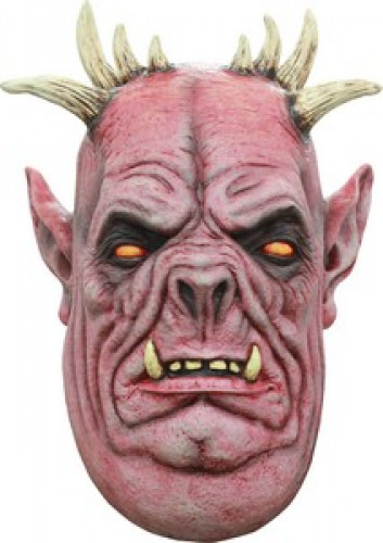 Maschera 3/4 demone uomo