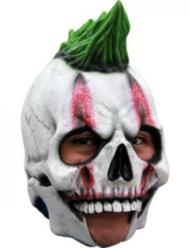 Maschera 3/4 scheletro punk adulto
