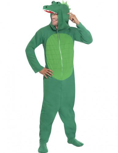 Costume coccodrillo adulto