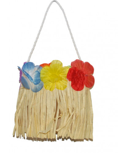 Borsa Hawaii con fiori