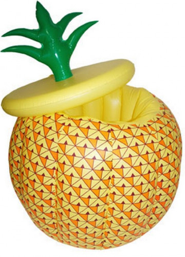 Secchiello per ghiaccio gonfiabile a forma di ananas
