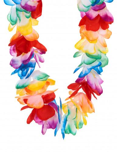 Collana hawaii multicolore lusso