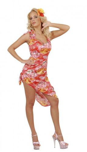 Costume hawaiano palma donna