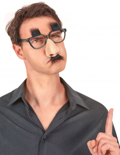 Occhiali naso con baffi-1