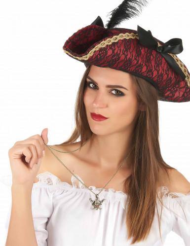Collana dorata pirata adulto-1
