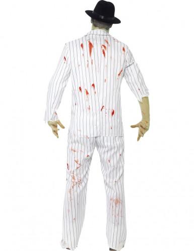 Costume gangster bianco zombie uomo halloween-2