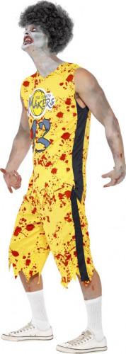 Costume da zombie basket adulto Halloween-1